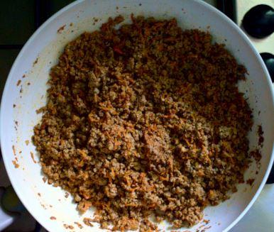 Umplutura vegana pentru lasagne